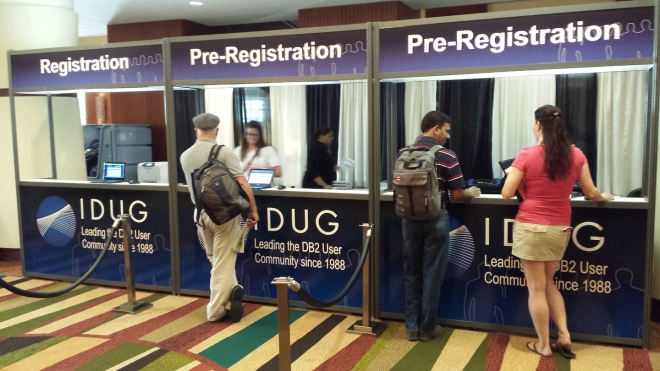 IDUG Registration Desk