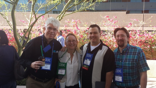 Scott Hayes, Susan Visser, Mike Kraffick and Ken Shaffer